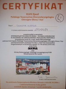 Laryngolog Białystok na zjeździe w Bydgoszczy