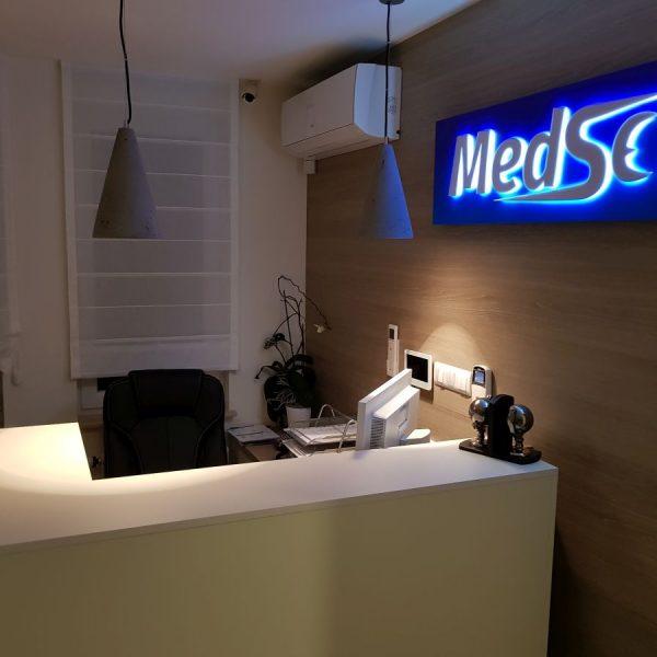 Wnętrze centrum medycznego MedSen Białystok