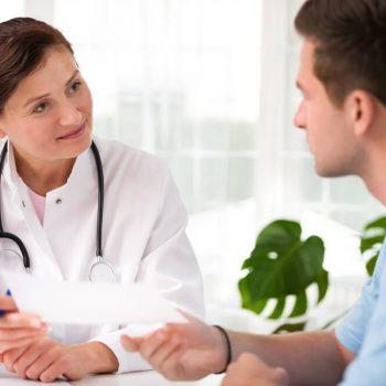 Wizyta w gabinecie laryngologicznym