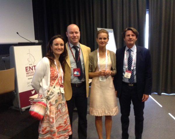 W przerwie konferencyjnej: prof. Ewa Olszewska, dr Marina Carrasco-Llatas i prof. Brian Rotenberg z Kanady.