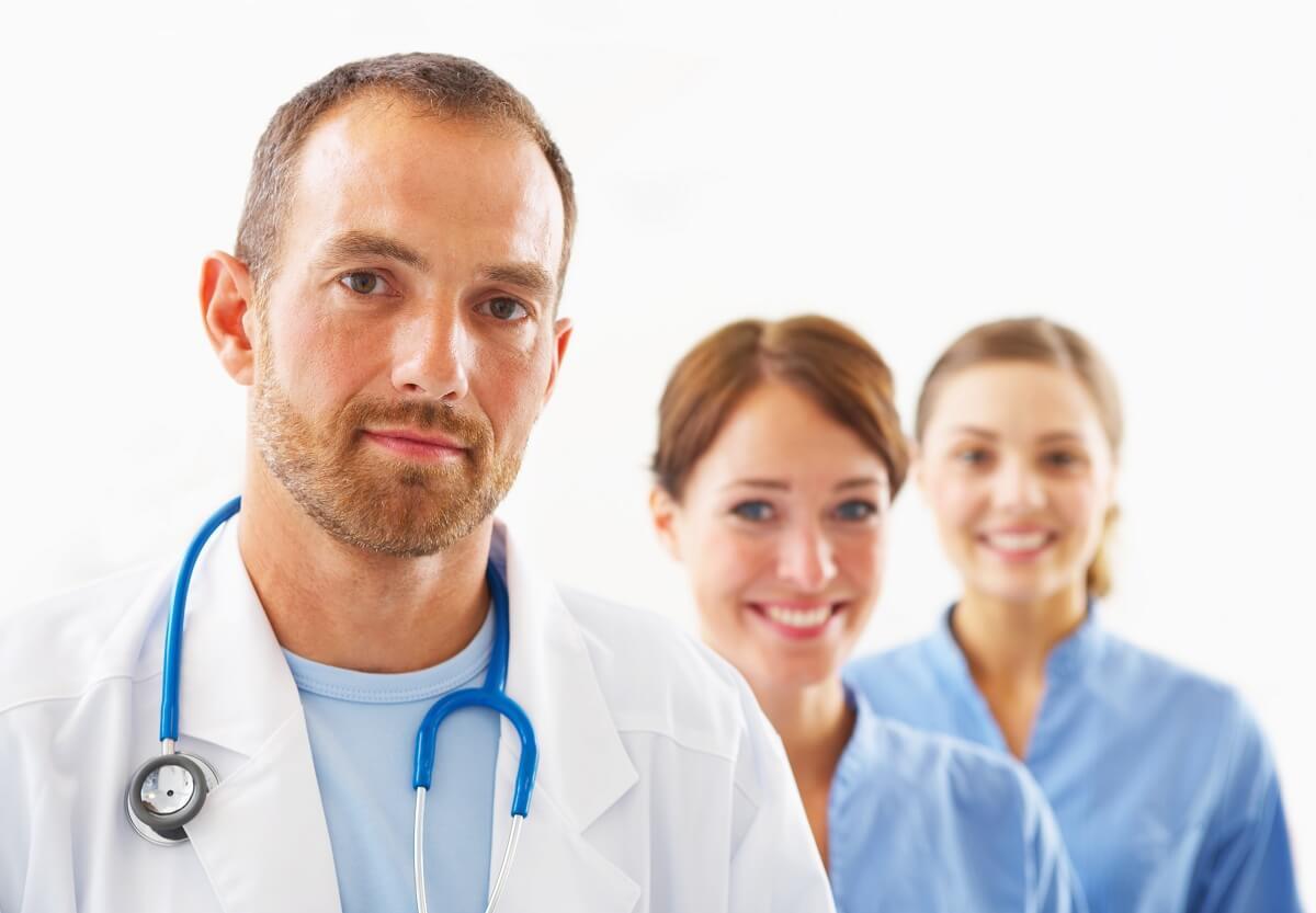lekarz ortopeda i zespół