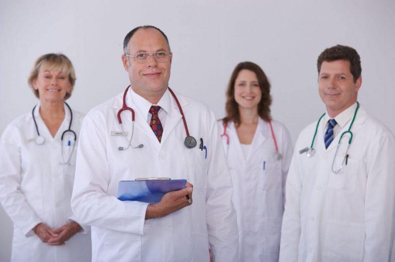 Zespół laryngologów z poradni laryngologicznej Białystok